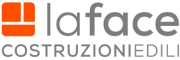 la face - logo grigio