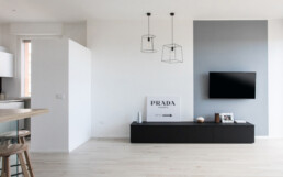 interno soggiorno di design